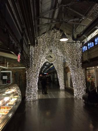Beautiful Lights Inside Chelsea Market Picture Of Foods Of