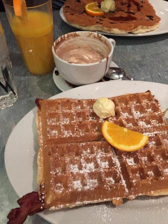 Gigantic breakfast