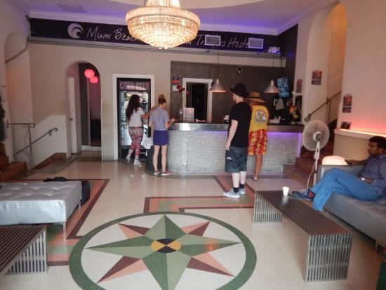 Miami Beach International Traveler's Hostel: Accueil