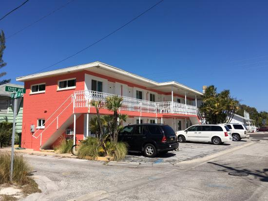 Beach House Motel  Gulf Blvd Treasure Island Fl