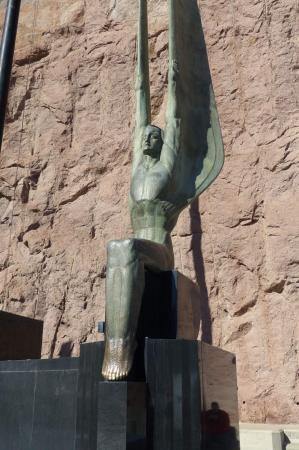 National Railroad Museum >> Winged Figures of the Republic Statues (Boulder City ...