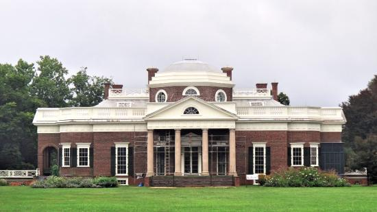 The home of no other but thomas jefferson picture of for Thomas jefferson house monticello