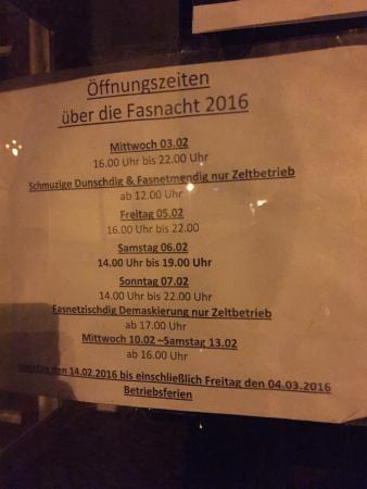 Lenzkirch, Germany: Good prices but the crowd is different each night.