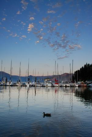Bayview, ID: Beautiful views from our docks...