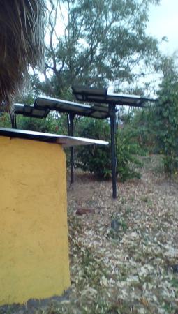 Totoco Eco-Lodge: Solar panels