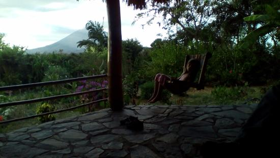 Totoco Eco-Lodge: Hammocks/swings on all of the porches