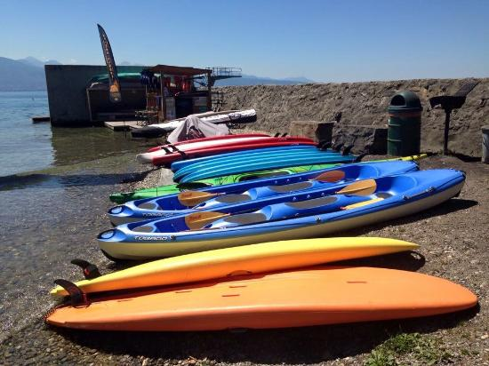 PADDLE-CENTER Plage de Lutry
