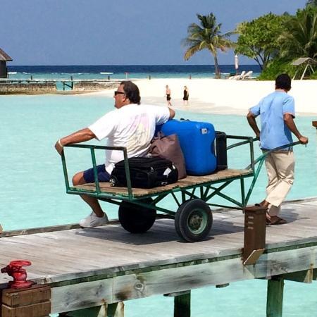 Veligandu Island Resort & Spa: Veligandu at it's best : Maldives Ambulance :-)