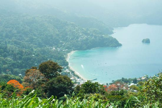 Northeast Coast, Tobago: Man of War Bay