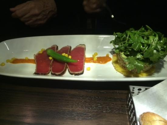Romeo's: ahi tuna appetizer