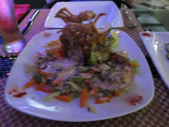 Belle Mare: Lobster