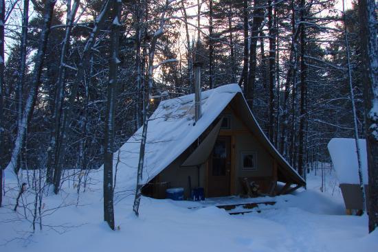 Gatineau Park 4 season tent 254 & 4 season tent 254 - Picture of Gatineau Park Gatineau - TripAdvisor