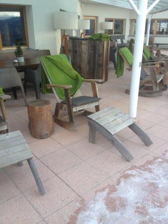 Hotel Gitschberg: Terrasse