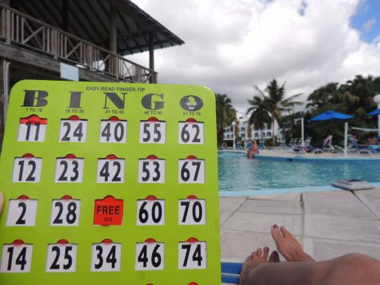 Tranquility Bay Antigua : Activities by pool.