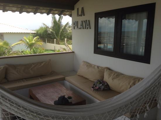 Terraza De Cada Casa Incluye Hamaca Y Zona Lounge Picture