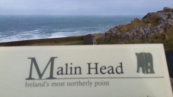 Bridgend, Irlande : the most northerly point in Ireland, and the most windy