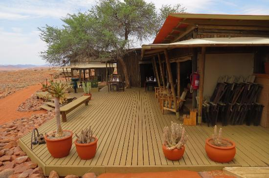 Wolwedans Dune Camp: Dining and reception