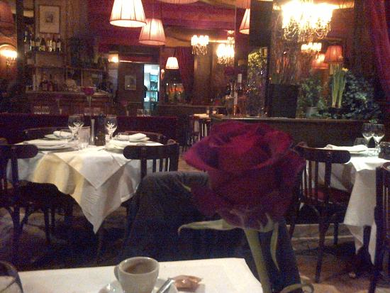 D cor ann es 50 picture of le bistro melrose paris for Decoration annee 50 americaine
