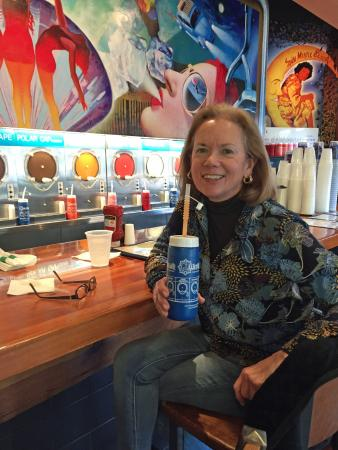 Wet Willie's Myrtle Beach: Enjoying a frozen Wet Willies drink