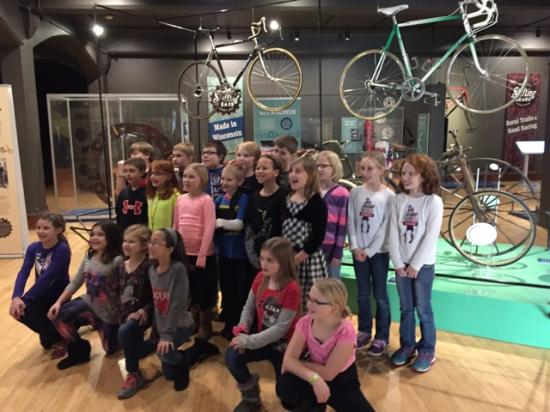 The History Museum at the Castle: Shifting Gears School Group