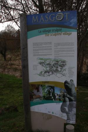 Franseches, Francia: Plan du site