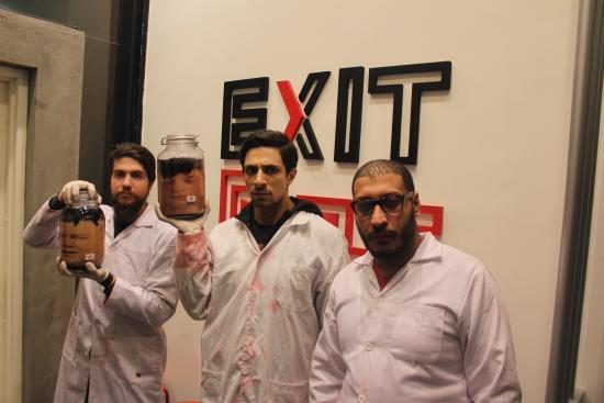 Exit Amman