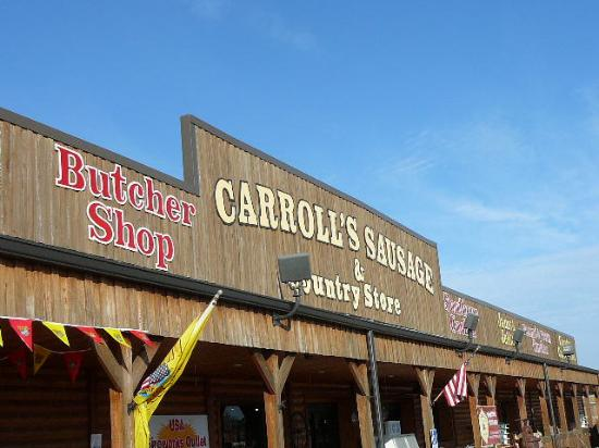 Carroll Sausage & Country Store front