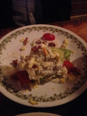 Fortville, IN: Blue Cheese Wedge