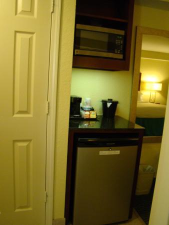 fridge and microwave picture of holiday inn resort orlando lake rh tripadvisor com