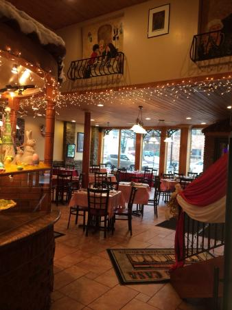 La Dolce Casa: Beautiful atmosphere as well as fantastic food!