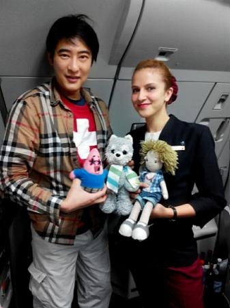Qatar Airways: dolls!