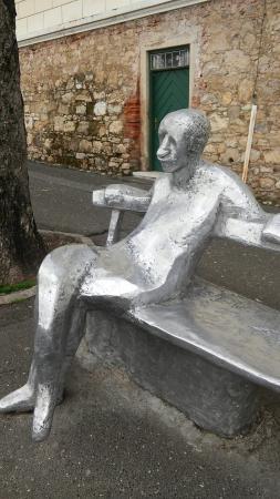 Antun Gustav Matos Statue