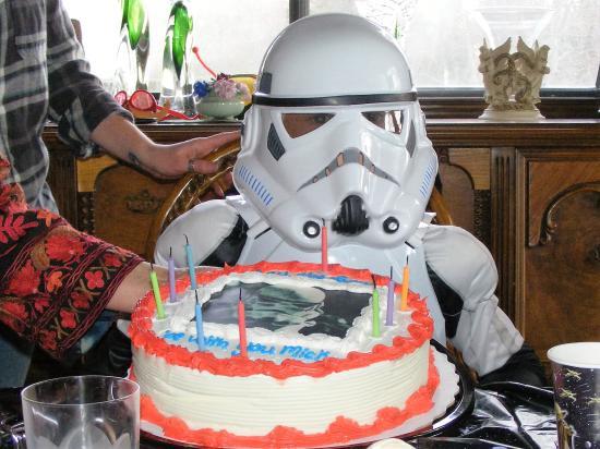 Kawartha Lakes, Canadá: StormTrooper Birthday