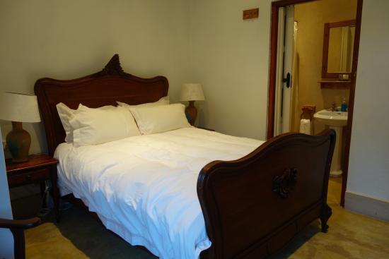Welgemoed, Sudáfrica: The bed.