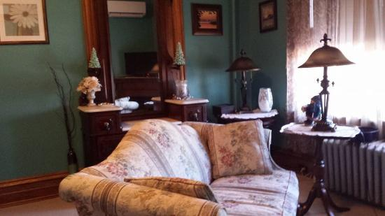 Keystone Inn Bed and Breakfast: Sitting area