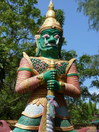 Bophut, Thailand: One of the guards