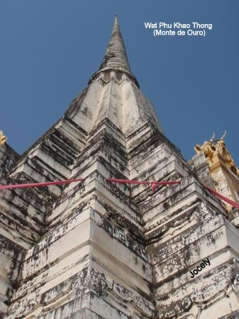 Trang, Thailand: vista do chedi