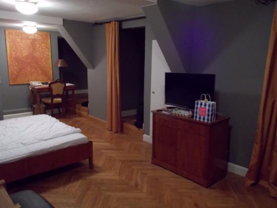 Bad Friedrichshall, Tyskland: Room on the third floor.