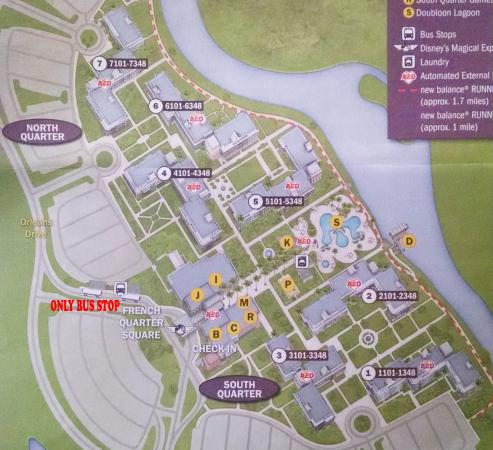 grounds map picture of disney s port orleans resort french rh tripadvisor com