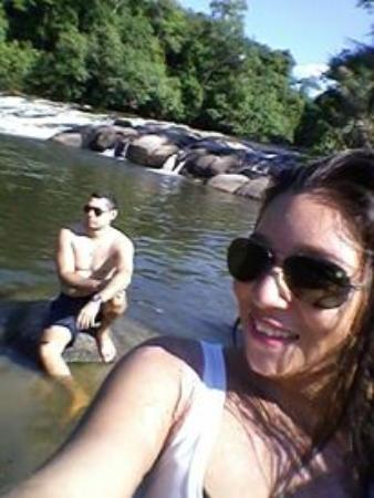 State of Rondonia: linda corredeira que se forma nas pedras