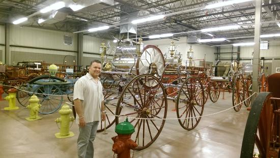 super old fire carriages picture of hall of flame museum of rh tripadvisor co za