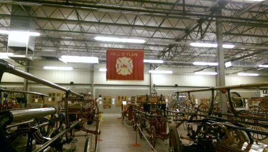 massive room of fire fighting equipement picture of hall of flame rh tripadvisor co za