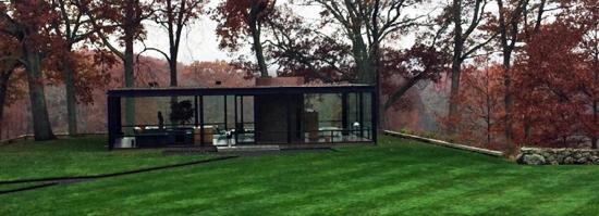 นิวคานาน, คอนเน็กติกัต: Philip Johnson Glass House November 2015