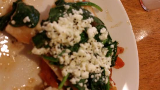 Mediterranean Chicken! (With spinach and feta) Comes with two sides