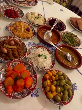 Traditional moroccan salads picture of restaurant dar for Authentic moroccan cuisine