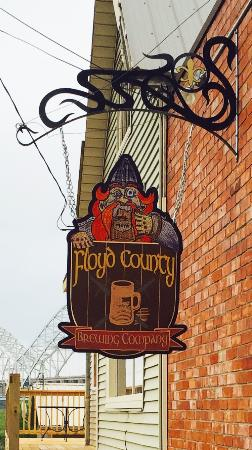 floyd county brewing company new albany restaurant. Black Bedroom Furniture Sets. Home Design Ideas