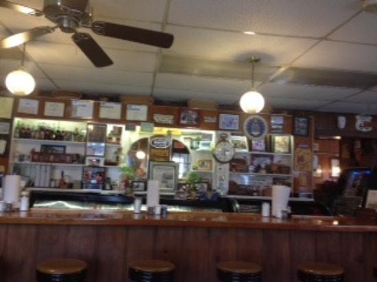 Stanley, VA: Lunch counter area