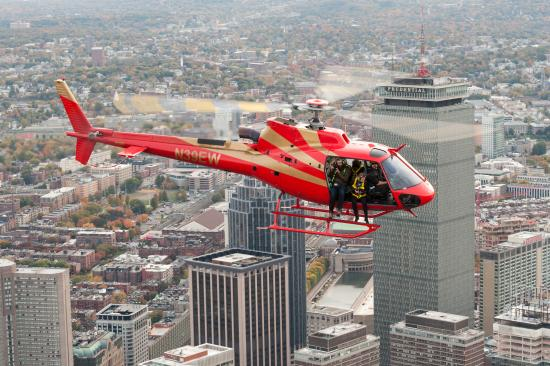 Why Are Helicopters Flying Over Boston Today >> Boston As The Backdrop Picture Of Tuckamore Aviation Boston