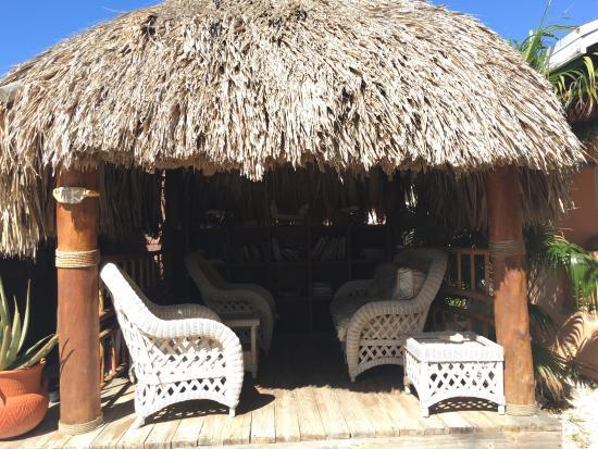 Villa Punta Salina: Tiki area