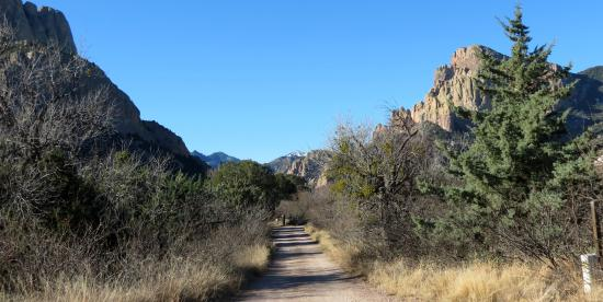 Cave Creek Canyon: One of many back roads